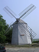 Judah-Baker-windmill South-Yarmouth-MA-US