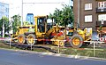 Jugoslávských partyzánů, rekonstrukce trati, stroj.jpg