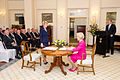 Julie Bishop being sworn in as Foreign Minister by Quentin Bryce 02.jpg