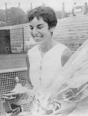 Julie Heldman - Heldman in 1969