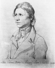 Selbstbildnis (Rom 1820) (Quelle: Wikimedia)