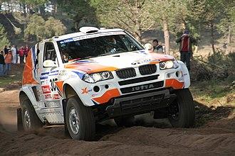 Jutta Kleinschmidt - Jutta Kleinschmidt, BMW X3, Lisbon Dakar Rally 2007