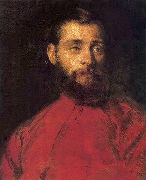Károly Brocky - Self portrait, ca. 1850