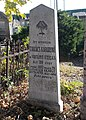 Károly Takács †1920 grave, 2020 Albertirsa.jpg
