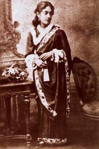 Kadambari Devi - A photograph of Kadambari Devi