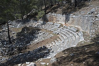 Cadyanda Ancient Lycian town