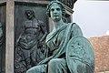 Kaiser Franz-Denkmal Hofburg Wien 2015 Sitzfiguren Stärke 06 Relief Viehzucht.jpg