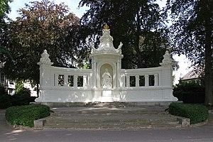 Augusta of Saxe-Weimar-Eisenach - The Empress Augusta Monument in Koblenz.