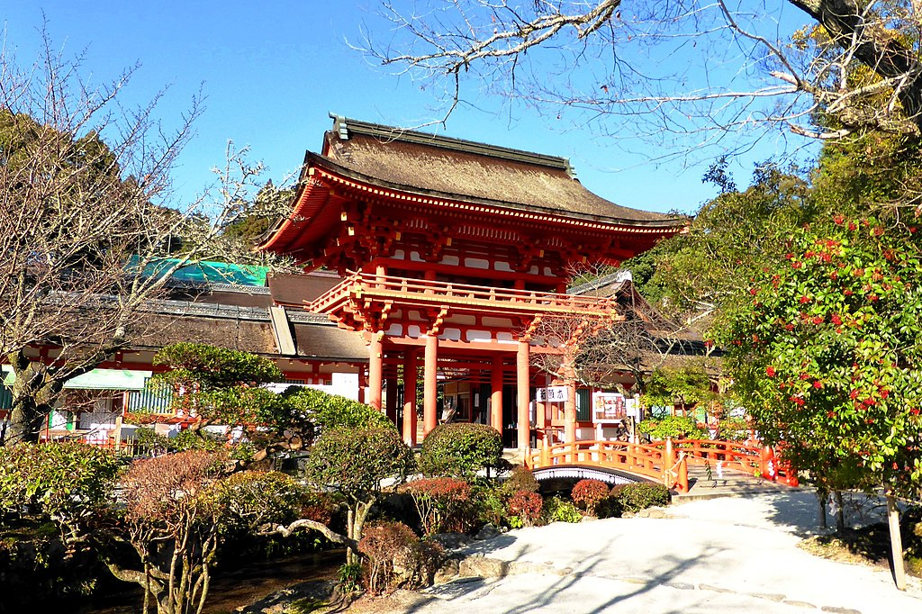 Kamigamo Shrine, Romon (Gate) -1 (December 2013) - panoramio
