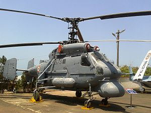 Kamov Ka-25 - Decommissioned Indian Navy Ka-25 at the Naval Aviation Museum in Goa.