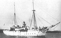 The sister ship Hyena