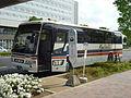 Kantetsu Kanko Bus at Tsukuba Center, May 2014.JPG
