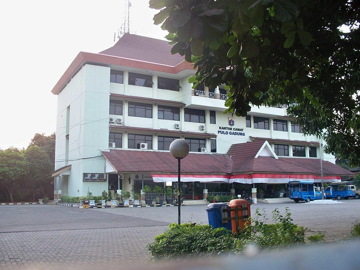 File:Kantor Kecamatan Pulo Gadung, Jakarta Timur.jpg ...