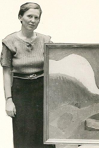 Karen Holtsmark - Karen Holtsmark, c. 1938