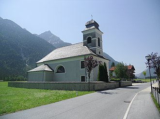Leutasch - Church in Unterleutasch