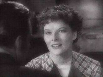 Little Women (1933 film) - Katharine Hepburn as Jo. From the trailer for Little Women (1933).