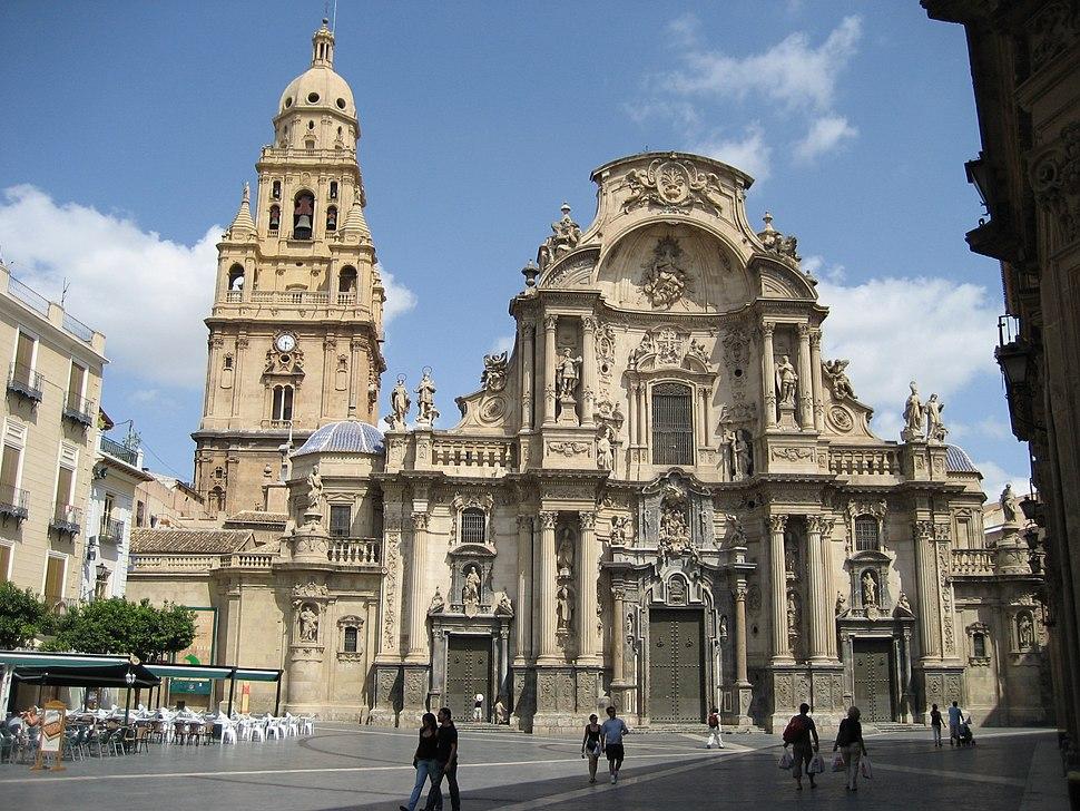 Kathedrale.Murcia.Spanien