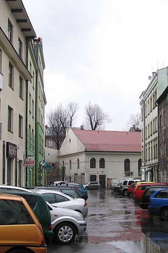 Kraków pogrom - Kupa Synagogue in the Kazimierz district of Kraków, 2007