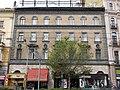 Kehrer house (1888). Brick facade. - 4 Erzsébet Boulevard, Budapest.JPG