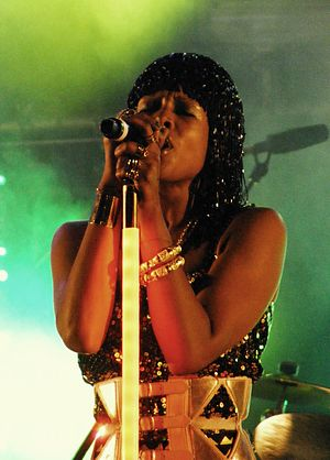 Kelis - Kelis performing during the Manchester Pride in Manchester, England on August 29, 2010