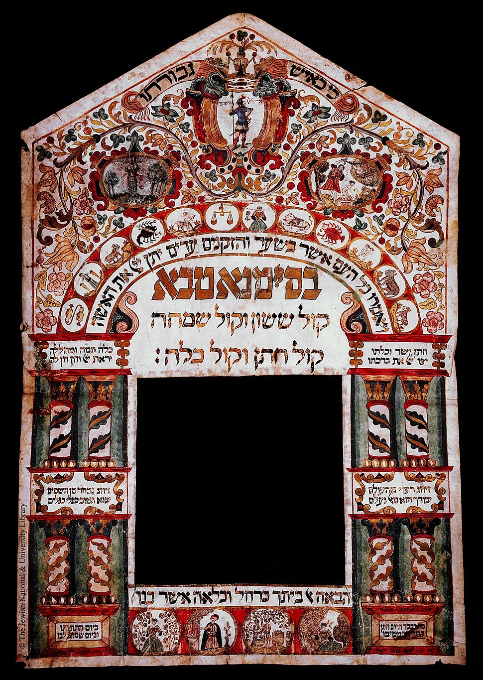 Ketubah from Italy