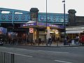 Kilburn station entrance look south.JPG