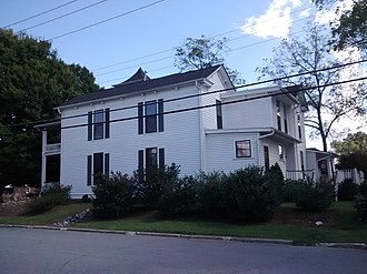 King-Waldrop House - King-Waldrop House, September 2014