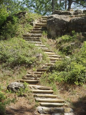 Kisatchie National Forest - Image: Kisatchie steps