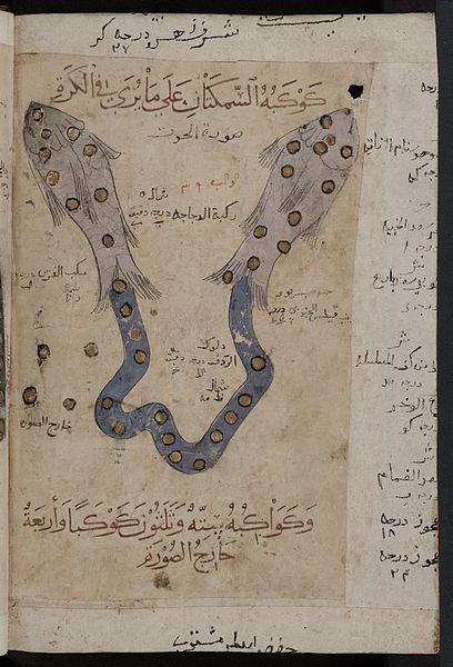 zodiac fish pisces arabic