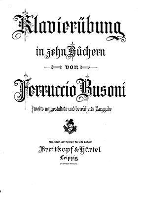 Klavierübung (Busoni) - Wikipedia