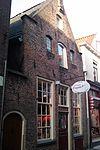 foto van Huis met tuitgevel, in jaarankers gedateerd 1611