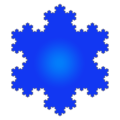 Koch Snowflake 6th iteration-blue.png
