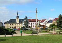 Kojetín, Masarykovo náměstí.jpg