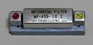 Mechanical filter