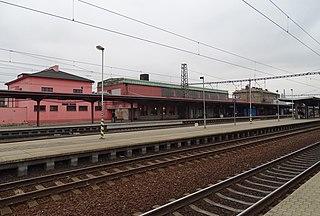 Kolín railway station Railway station in Czech Republic