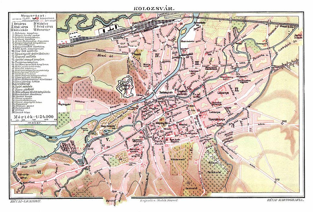 Fájl:Kolozsvár város térképe, Trianon előtt.jpg – Wikipédia