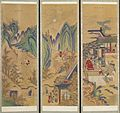 Korean - Ten-panel Folding Screen with Scenes of Filial Piety - Walters 35199 - Detail A.jpg
