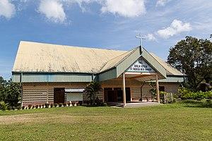 Kota Marudu District - Image: Kota Marudu Sabah Catholic Church St Theresa 02