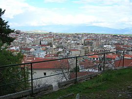 View of Kozani.