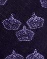 Kröningsmantel i purpurfärgad sammet med märken efter broderade kronor som bortsprättades 1774 - Livrustkammaren - 91425.tif