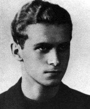 Krzysztof Kamil Baczyński - Image: Krzysztof Kamil Baczyński Maturzysta