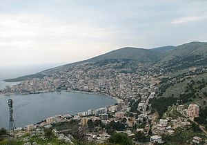 Greeks in Albania - View of Saranda