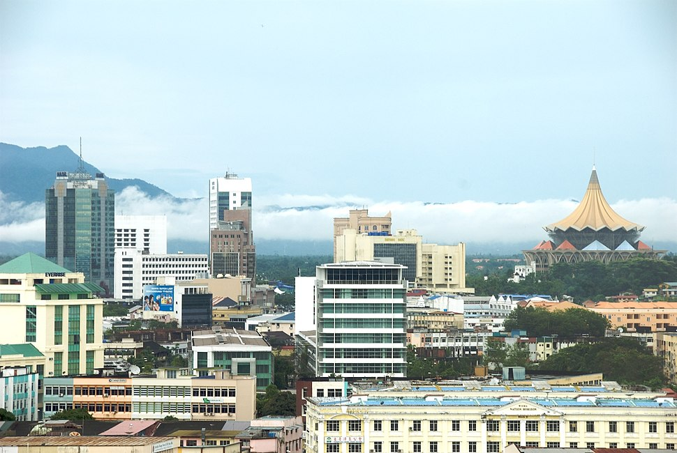 Kuching, Commercial Centre