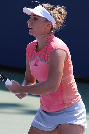 Kristína Kučová - Kristína Kučová at the 2016 US Open