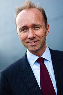 Kulturminister Trond Giske på åpningen av Rockheim.jpg
