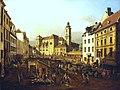 Kunsthistorisches Museum Wien, Canaletto, die Freyung in Wien .JPG