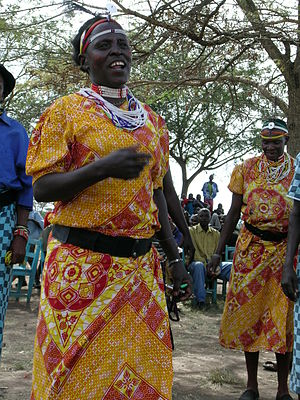 Kuria people - Image: Kurias singing and dancing