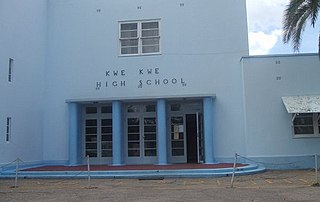 Kwekwe High School High school, boarding school, day school, a school in Zimbabwe