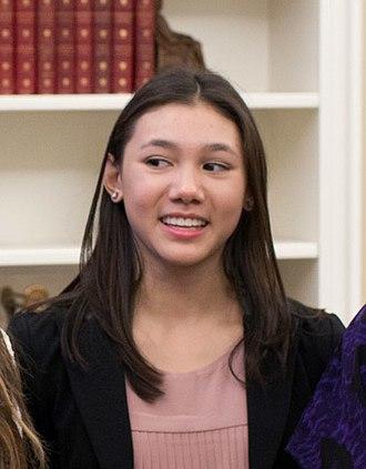 Kyla Ross - Ross at the White House in November 2012