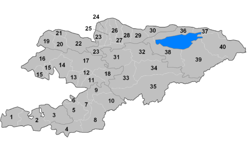 Kyrgyzstan districts numbered.png
